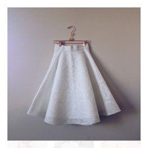sunflower white skirt